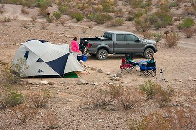 La Noria #1 Campsite