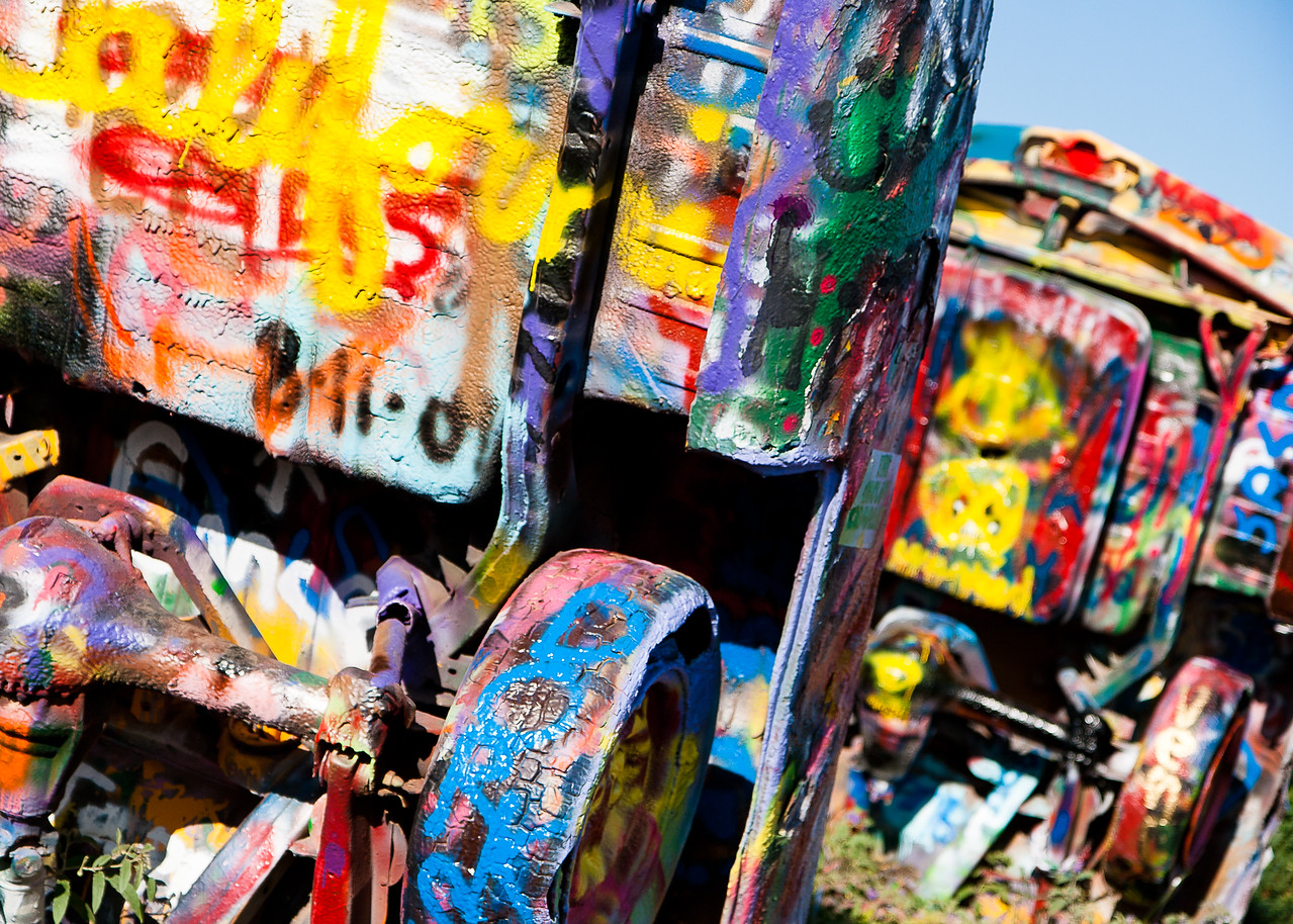Another Coat of Paint, Cadillac Ranch