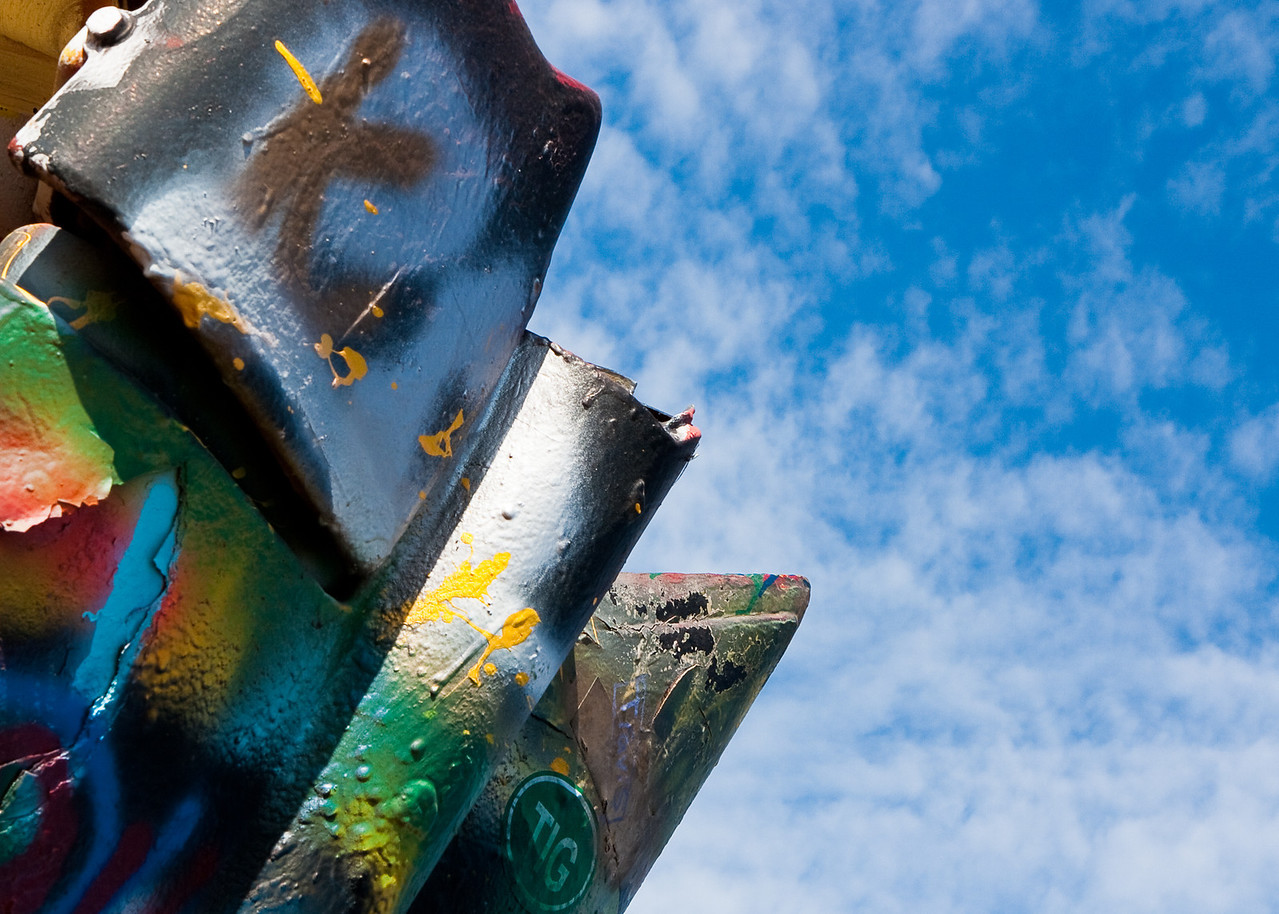 The Graffiti Will Launch in Five Minutes, Cadillac Ranch