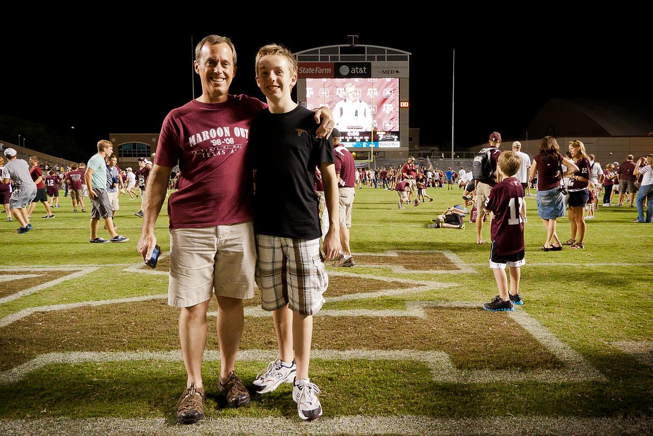Scott and Jack, 2011.