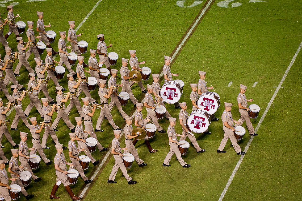 Percussion at the point of the formation.