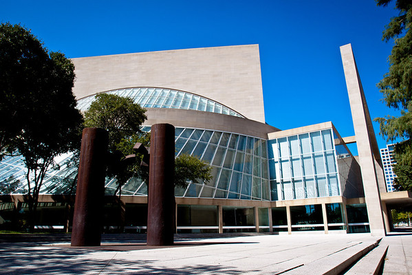 Outside of the Meyerson