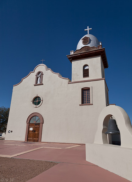 Ysleta Mission on the El Paso Mission Trail