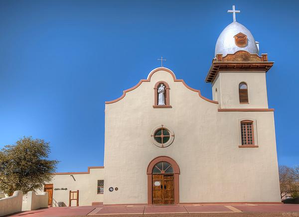 Ysleta Mission on the El Paso Mission Trail
