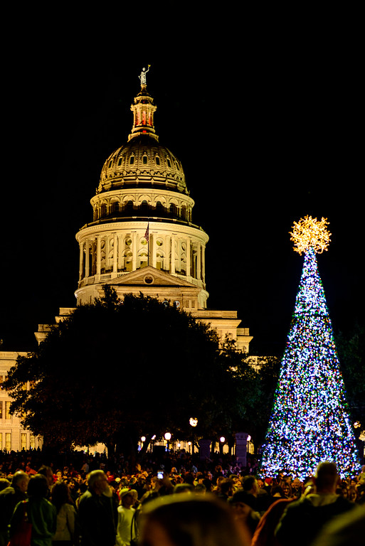 Capitol Tree Lighting 12/6/2014