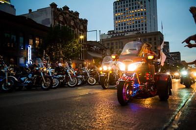 Republic of Texas Biker Rally - Parade - June 2013 - Austin - Texas - USA