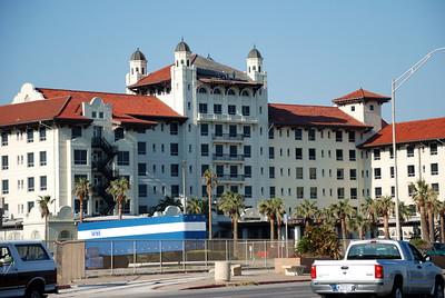 Galvez Hotel damage.