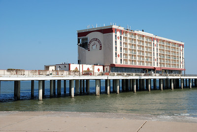 Galveston's Flagship Hotel damage.