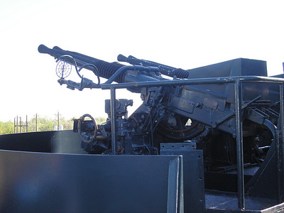 This is the 40 mm anti-aircraft gun