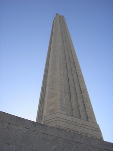 San Jacinto Monument is the tallest stone monument in the world at 570 feet