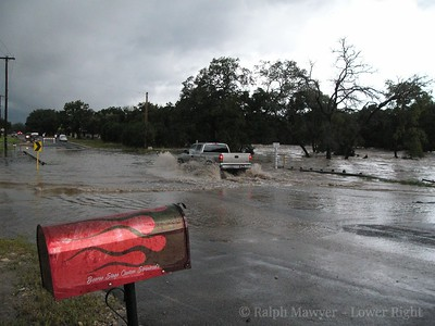 Leon Creek Flooding
