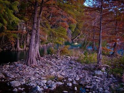 Guadaluipe River in Gruene, TX.