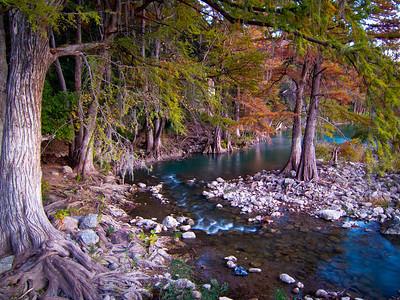 Guadalupe River in Gruene, TX.