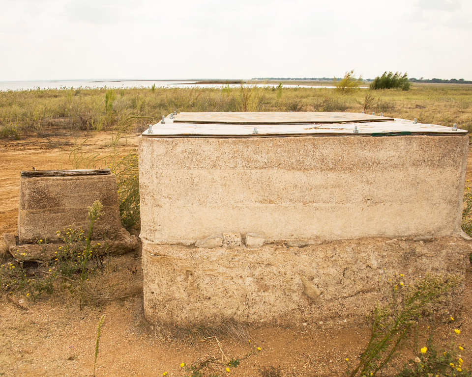 Old Bluffton - Ghost Town - Lake Buchanan - Texas - Old Well