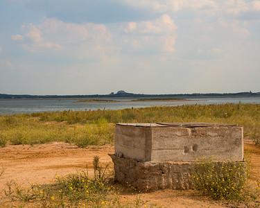 Old Bluffton - Ghost Town - Lake Buchanan - Texas - Old Well