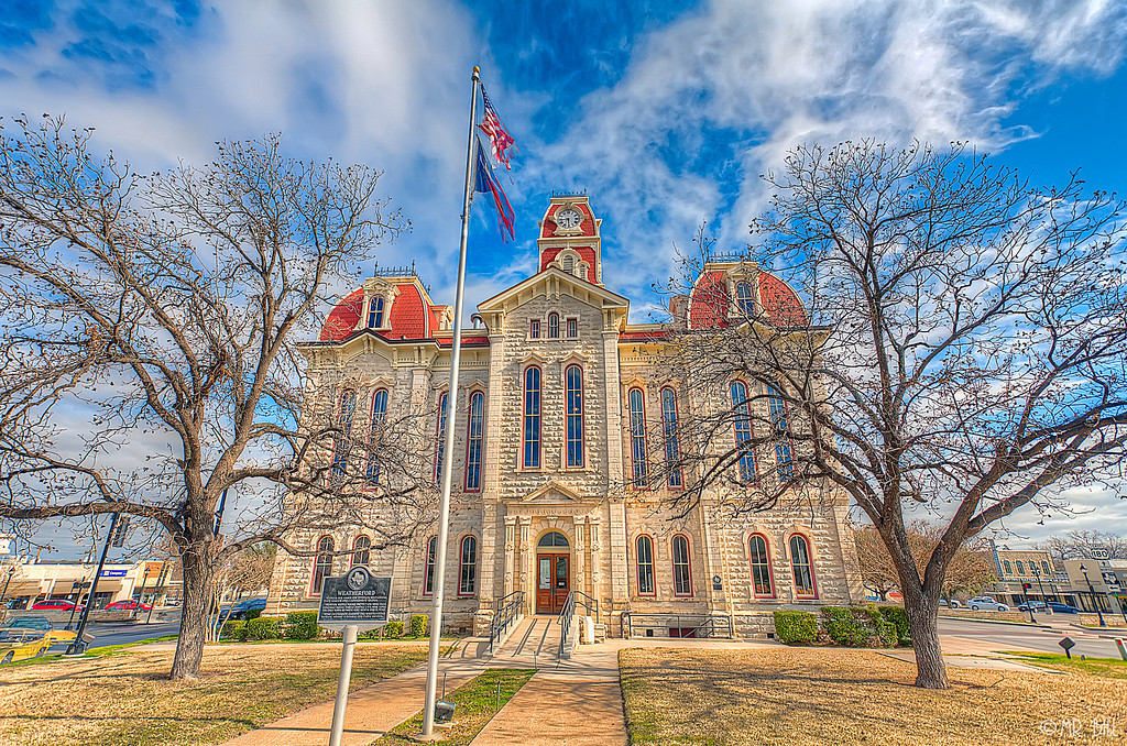Parker County Courthouse in Weatherford, TX