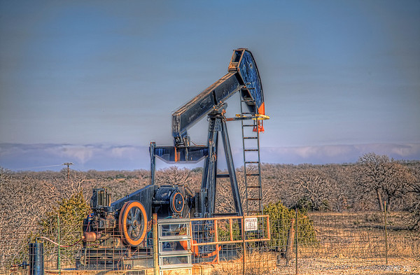 Oil Pump in field somewhere in Texas