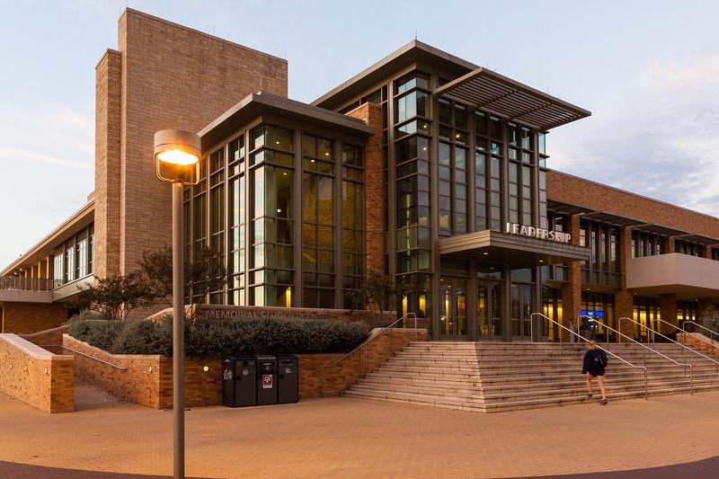 Memorial Student Center, TAMU, 2015.