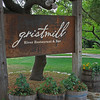 Gristmill Restaurant Gruene, TX outside New Braunfels