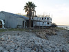 Old Riverboat Abandoned by Galveston Bay