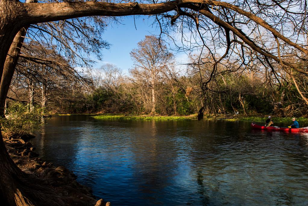 San Marcos River, San Marcos, Texas