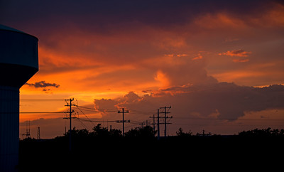 Stormcloud Sunset - Austin - Texas - USA