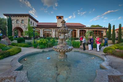 The beautiful Trattoria Lisina restaurant in Driftwood, Texas.