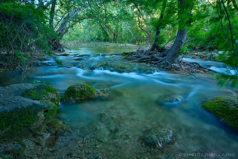 Barton Creek greenbelt in Austin, Texas.