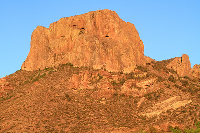 Casa Grande from Chisos Basin - Big Bend NP