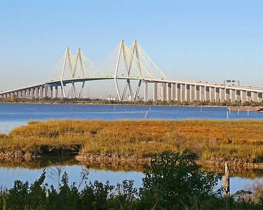 Fred Hartman Bridge - Baytown / LaPorte - From Bayland Marina