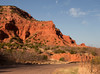 Driving in Caprock Mountain State Park