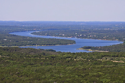 Lake Travis from Warbler Vista