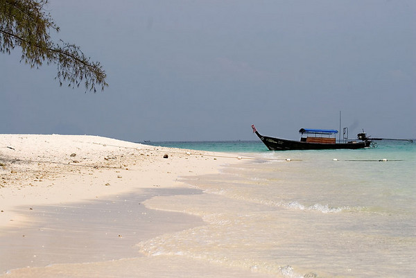 Bamboo Island, Phi Phi Islands.  Bamboo Island is a 30 minute ride on a long-tail boat from our resort on Phi Phi Don