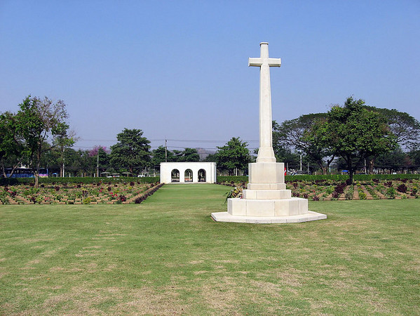 Photo by Herb.<br /> <br /> The beautifully tended POW Cemetary, Kanchanaburi