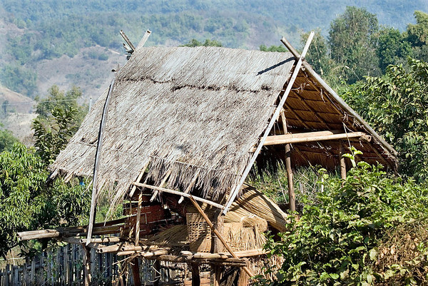 Hill tribe hut