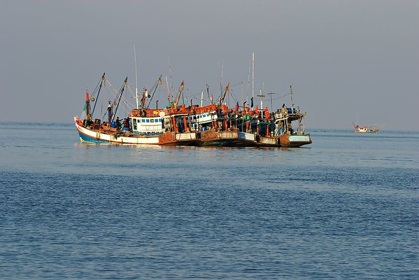 Fishing boats at Thong Nai Pan