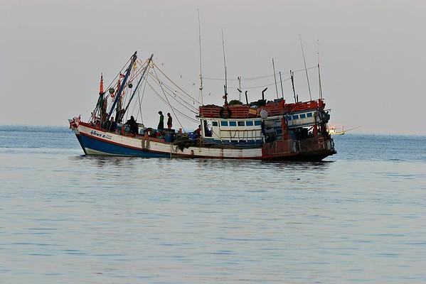 Fishing boat at Thong Nai Pan