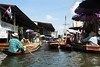 Longboat ride on Klongs (canals) to Floating Market