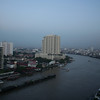 Chao Praya river. View from our room.
