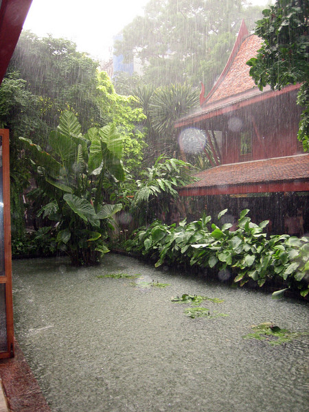 Our big downpour in Bangkok