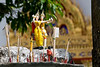A little shrine someone had left at Wat Suthat.