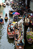 The Floating Market of Damnern Saduak.