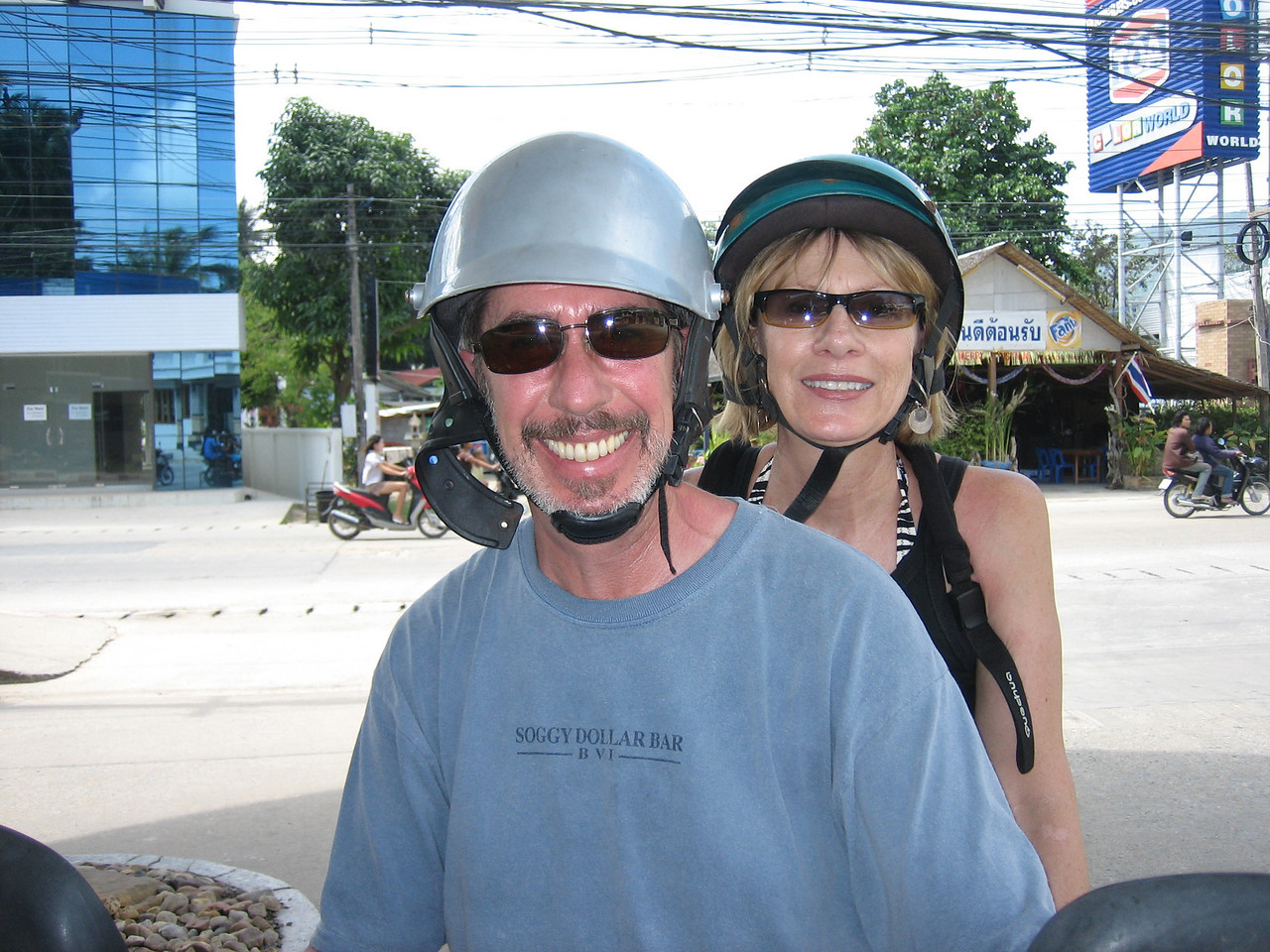 Easy Riders in Thailand