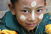 A hill tribe child in Myanmar.