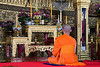 Buddhist Monk at Wat Suthat.