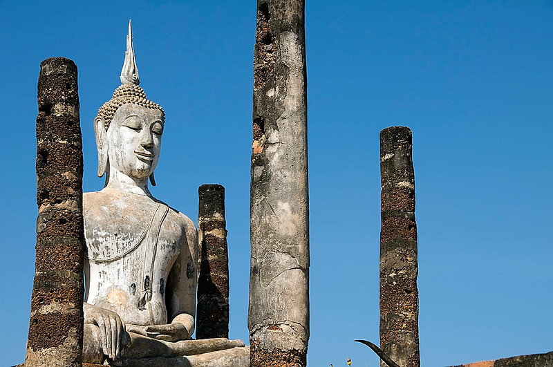 Sukhothai is a 13th century ruin of what used to be the first capital of Thailnad.  This is said to be where the Thai nation was born and is a spiritual center for the Thai people.