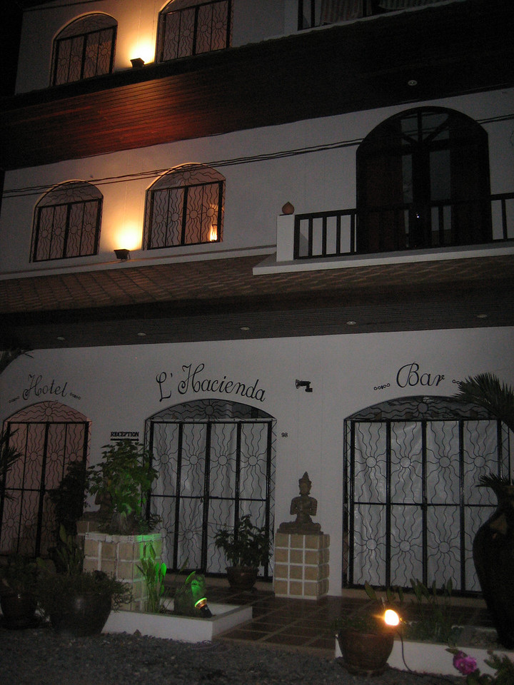 L'Hacienda owned by a French expat couple