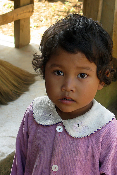 A Burmese child.