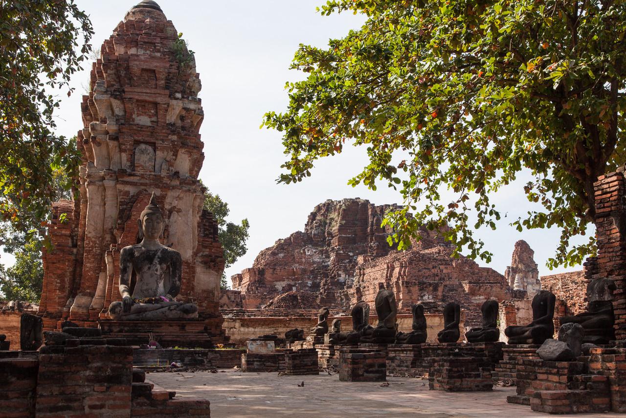 More of Wat Ratchaburana in Ayutthaya.
