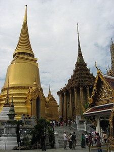Temple of the Emerald Buddha, the Grand Palace, Bangkok